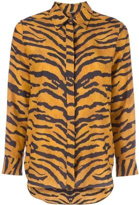 Adam Lippes Tiger Stripe Shirt