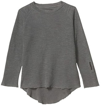 Nununu Soft Dyed Shirt (Infant/Toddler/Little Kids) (Vintage Grey) Boy's Clothing
