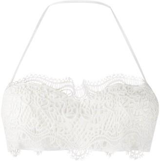 Ermanno Scervino Embroidered Bikini Top