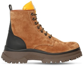 Moncler Ulysse Suede Boots