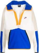 Nike sherpa fleece hooded jacket