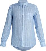 120% Lino 120 LINO Striped linen shirt