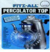 Tops MFG. CO. Tops Mfg. 246 Fitz-All Replacement Percolator Top
