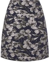 Warehouse Floral Jacquard Pelmet Skirt