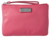 Marc by Marc Jacobs Q Wristlet Leather Pouch.