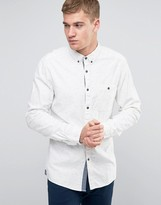 Esprit Cotton Shirt with Fleck In Regular Fit