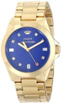 Juicy Couture Women's 1901120 Stella Royal Blue Jewel Toned Dial Watch