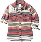 Tea Collection Gonzales Stripe Shirt (Toddler, Little Boys, & Big Boys)