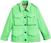 Burberry taffeta field jacket