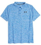 Under Armour Boy's 'Playoff' Heatgear Polo