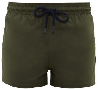 Vilebrequin High-cut Stretch-shell Swim Shorts - Mens - Khaki