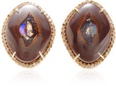 "Kimberly McDonald One Of A Kind Yowah ""Nut"" Opal And Natural Brown"
