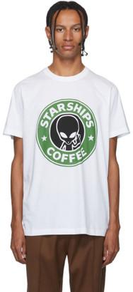 SSS World Corp White Starships Coffee T-Shirt