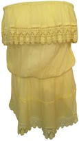 Melissa Odabash Yellow Viscose Dresses