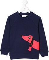 Mini Rodini dachshund print sweatshirt