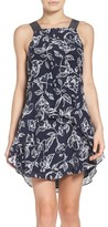 Greylin Women's Print Silk Dress