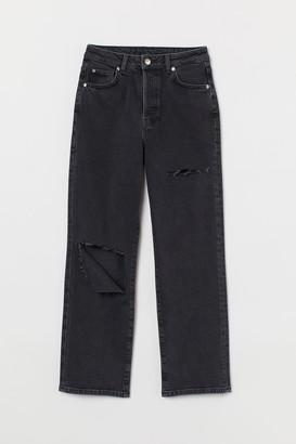 H&M Vintage Straight High Jeans