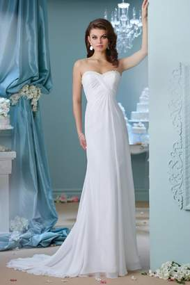Enchanting Chiffon Bridal Gown