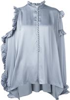 Magda Butrym Cold Shoulder Shirt