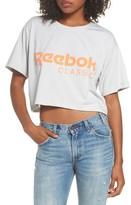 Reebok Women's Logo Crop Tee