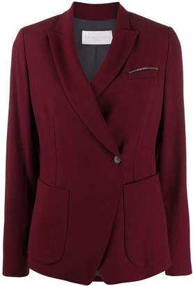 Fabiana Filippi off-centre fastened blazer