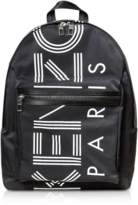 Black Nylon Large Kenzo Sport Backpack