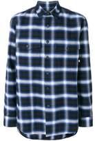 Marcelo Burlon County of Milan Men's Blue Cotton Shirt.