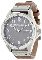 Steve Madden Quartz Chronograph with Steel Buckle