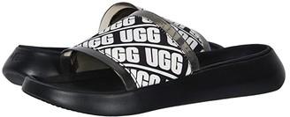 UGG Ruette Slide (Black) Women's Sandals