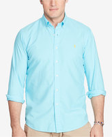 Polo Ralph Lauren Men's Big & Tall Garment-Dyed Cotton Shirt