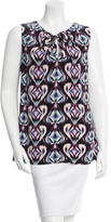 Tory Burch Silk Pattern Top