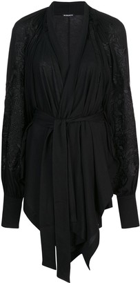 Ann Demeulemeester wrap front cardigan