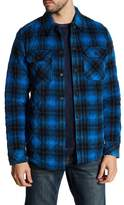 Lucky Brand Alamo Fleece Plaid Jacket