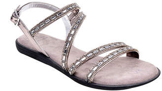 New York Transit Womens G0-Lder Strap Sandals