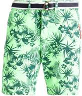 Superdry International Shorts Neon Green Woodblock