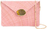 Kayu embellished envelope clutch - women - Cotton/Straw - One Size