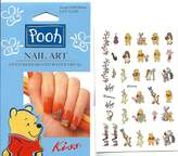 Disney Let's Jam Winnie the Pooh Kiss Licensed Nail Art by