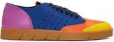 Loewe Multicolor Leather Sneakers