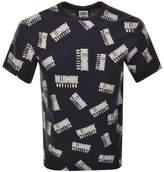 Billionaire Boys Club Repeat Print T Shirt Blue