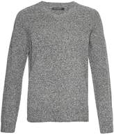 French Connection Men's Lambswool Elbow Patch Jumper