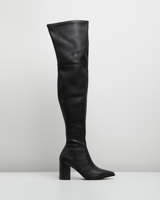 Skin Demar Over-the-Knee Leather Boots