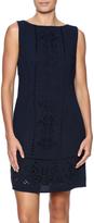 Molly Bracken Navy Eyelet Dress