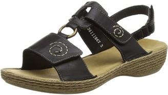 Rieker Women's 65863 Open Wedge Sandals