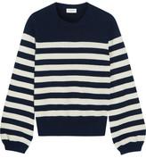 Saint Laurent Striped Cashmere Sweater - x small