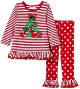 Bonnie Jean Toddler Girl Gem Tree Top & Pants Set