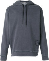 McQ by Alexander McQueen long sleeve hoodie - men - Cotton/Polyester/Spandex/Elastane - S