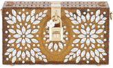 Dolce & Gabbana Embellished Perspex Dolce Clutch