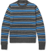 Prada Striped Wool Sweater