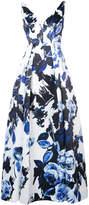 Aidan Mattox floral print dress