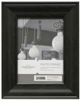 "Threshold 5""x7"" Black Wood Grain Frame"